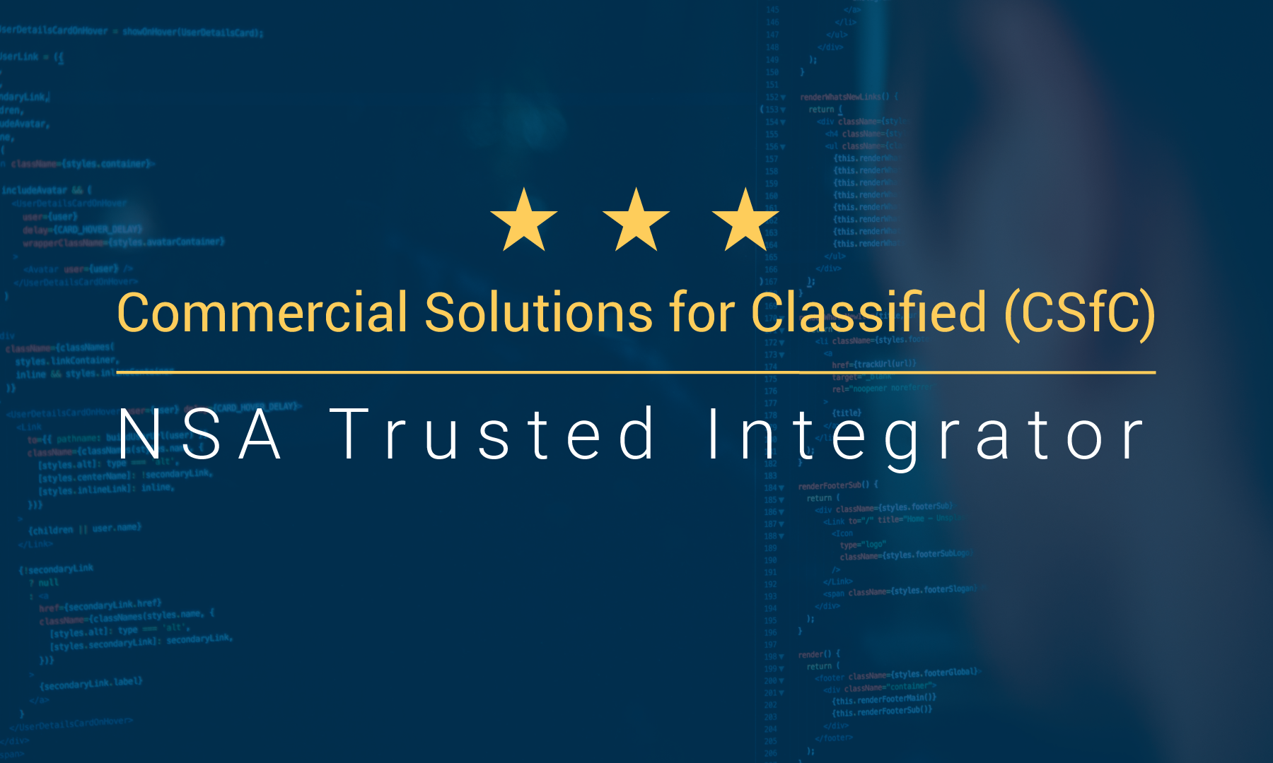 Cambridge NSA Trusted Integrator Logo