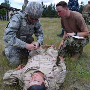 Field Exercise with dummy